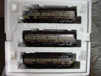 Diesel Canadian Pacific Set